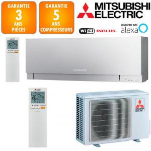 Climatiseur Mitsubishi MSZ-EF25VGKS + MUZ-EF25VG